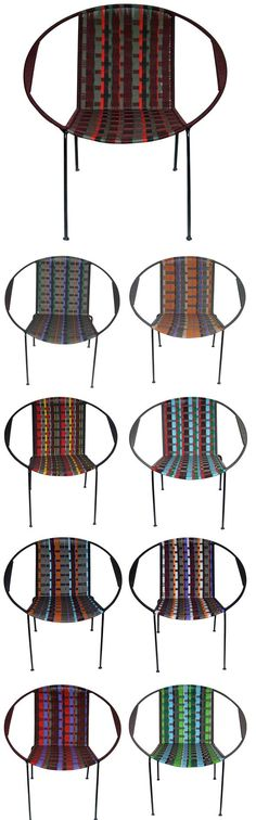 beautiful chairs from plastica - I have some fake ones from UO, but these are even awesomer.