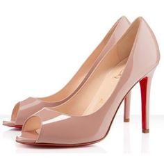 Chaussure Louboutin Pas Cher Pompe You You 100mm Nude #chaussure
