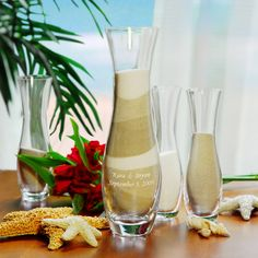 Personalized 4pc. Sand Ceremony Unity Set -Getting this for my sand ceremony