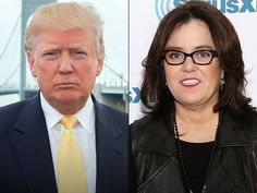 TV personality, multi-billionaire and Republican presidential candidate Donald Trump dinged Rosie O'Donnell during Thursday night's GOP Primary debate.  Debate moderator Megyn Kelly, of Fox News, questioned whether Trump's unpolished public persona and lack of filter was fitting of a presidential candidate — specifically when it comes to his comments on women.