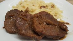 Meat Recipes, Cooking Recipes, Steak, Pork, Food And Drink, Beef, Dishes, Foods, Drinks