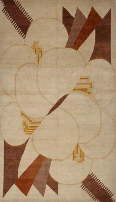 Matt Camron Rugs & Tapestries - Modern & Tibetans - Deco Rug - 14312HM