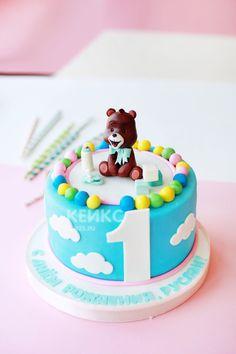 Детский торт мальчику на годик #детскийторт #тортнагодик #тортмальчику
