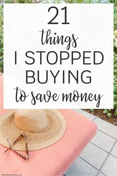 Here are 21 save money tips you can use to stop buying things you don't need. These frugal ways to save money will give you ideas to live frugally and stop spending money. Saving money tricks | Frugal living ideas