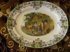 Nancy's Daily Dish: Spode Byron Tablescape ~ My Favorite Transferware