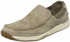 Clarks Men's Vestal Slip-On Color: Taupe Nubuck or Olive Nubuck. Size 10