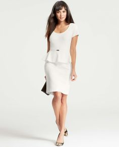 Serendipity Peplum Dress | Ann Taylor