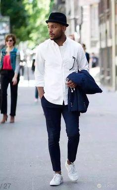 【懶男系】ㄧ件白襯衫 + 5 種神搭配 沒人發現你每天都穿同一件! - JUKSY 流行生活網