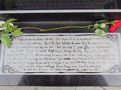Love the handwritten inscription.
