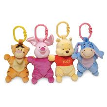 Winnie the Pooh toys for baby! I have Pooh, just need the others now :)