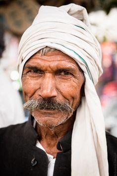 Faces in Agra, India (2)