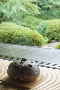 Japanese smudge pot for mosquito
