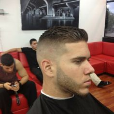 Fade Haircut Men 2015