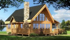 Southland Log Homes offers custom cabin homes & cabin kits, nationwide. View hundreds of log home plans or design your own log cabin homes! Log Cabin House Plans, Log Cabin Living, Log Home Floor Plans, Log Cabin Kits, Log Cabin Homes, Cabin Ideas, Log Cabins, Small Log Home Plans, Building A Small Cabin
