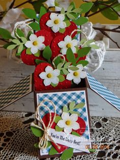 Ink-a-Doodle Creations: The Berry Best! - Stylin' Stampin' Squad May Blog Hop!