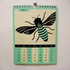 2011 Calendar - Valerie Jar / Design + Illustration