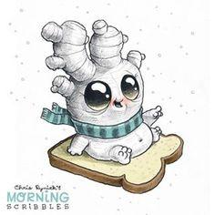 Ginger-Bread man! #morningscribbles