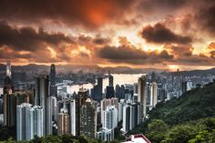 Sunrise at The Peak by Dean D on 500px