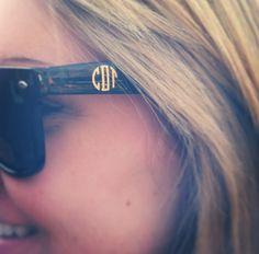Monogram sunglasses, want a pair for the honeymoon!! :)