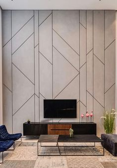 Feature Wall Design, Wall Panel Design, Wall Decor Design, Deco Design, Küchen Design, House Design, Wall Cladding Designs, Decorative Wall Panels, Wall Molding