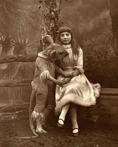 Today marks the birthday of Charles Lutwidge Dodgson, better known as Lewis Carroll, beloved author of Alice in Wonderland. Here are some fascinating photographs from his lifetime