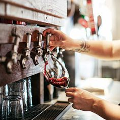 Wine on tap is not only fresher and cheaper, but better for the planet by slashing the carbon footprint of making, shipping, and recycling all those bottles.