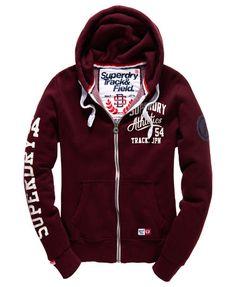 $110.00 Trackster Zip Hoodie http://www.superdry.com/mens/whats-hot/details/57984/trackster-zip-hoodie
