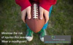 Minimise the risk of oral injuries this season, wear a custom fitted mouth guard. Stop Bragging, 5 Kids, Children, How To Teach Kids, Mouth Guard, Party Desserts, Big Game, Teaching Kids, Your Child