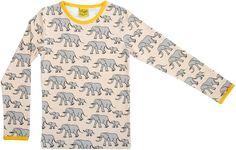 Duns l/s tee - Yellow Elephant Retro Baby Clothes - Baby Boy clothes - Danish Baby Clothes - Smafolk - Toddler clothing - Baby Clothing - Baby clothes Online