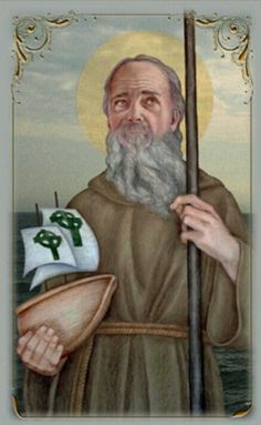 St. Brendan the Navigator Feast Day May 16th