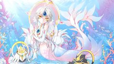 Elsword Eve, Elsword Online, Eve Best, Anime Mermaid, Thing 1, Monster Design, I Love Anime, Anime Style, Game Character