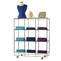 Folding Retail Display Shelves