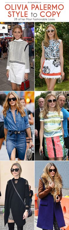 Olivia Palermo is a true style icon who isn't afraid to turn the streets of New York, Paris, and Milan into her own personal runway. Here are a few of our favorite looks from the socialite, plus tips on how to incorporate her style into your own.