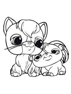 Free printable Littlest Pet Shop (LPS) coloring pages for Kids Little Pet Shop, Little Pets, Coloring Pages For Girls, Coloring Books, Custom Lps, Lps Pets, Artist Loft, Pets For Sale, Pet Store