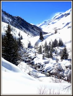 -#Parc national de la #Vanoise, la vallée de #Chavière #Doron