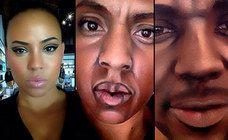 Wahnsinn! Diese Frau verwandelt sich in berühmte Rapper - allein durch Make-up!