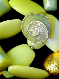 Martha Banyas - Enamel and Lemon Jade--I've pinned this before but I just love it so much...