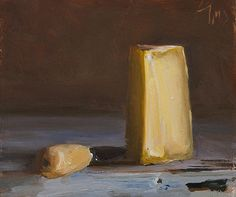 Cheese and knife Julian Merrow-Smith 9-21-14. I could tell that Ruth bought lots of cheeses for me but we ate them... but I couldn't possibly admit to that