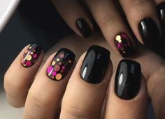 about Sinful Colors Professional Nail Polish Fl. Black On Black 103 Sinful Colors Professional Nail Polish Fl. Black On Black Colors Professional Nail Polish Fl. Black On Black 103 Nail Polish Designs, Cool Nail Designs, Acrylic Nail Designs, Nagellack Design, Nagellack Trends, Matte Nails, Glitter Nails, Black Nails, Acrylic Nails