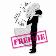 Freebie for ♥ Wedding ♥ Silhouette Cameo Freebies, Silhouette Curio, Free Machine Embroidery Designs, Embroidery Patterns, Janome, Print And Cut, Handicraft, Wedding Gifts, Paper Crafts