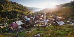 Ushguli village by Max Mizya - Photo 186407097 / 500px
