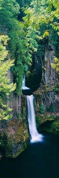 Angel's Pool - Tokatee Falls, Oregon      #waterfalls  #breathtaking  #inspiringcarlos