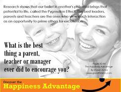 Leaders Encourage- Shawn Achor - THE HAPPINESS ADVANTAGE - goodthinkinc.com