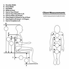 wheelchair measurements