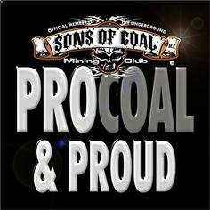 Pro coal sons of coal facebook meme designed by earl ferguson