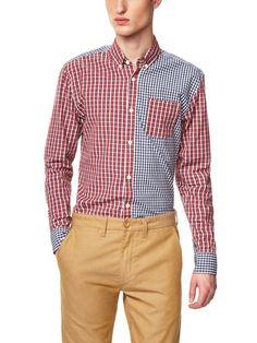 Gilbert & Lewis Freddie Mixed Pattern Shirt