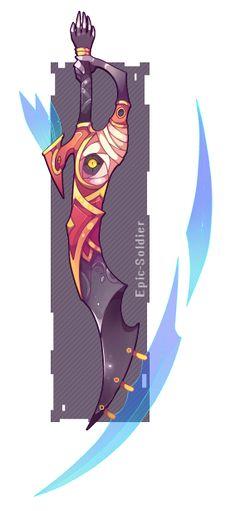 Kendo's Sword by Epic-Soldier on DeviantArt Fantasy Sword, Fantasy Weapons, Fantasy Art, Armas Ninja, Sword Design, Anime Weapons, Weapon Concept Art, Monster, Sword Art