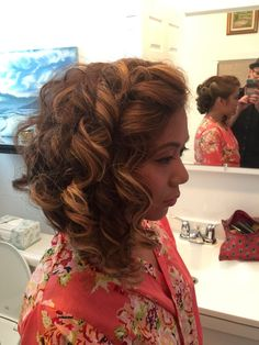 Wedding hair by Curtis
