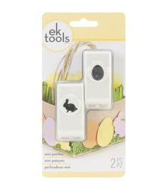 EK Tools Mini punches Bunny & Egg, , hi-res