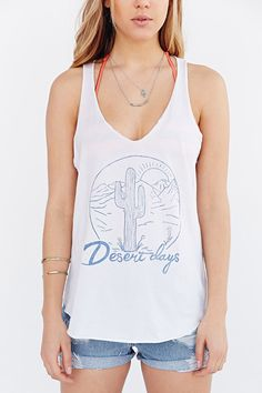Project Social T Desert Days Tank Top - Urban Outfitters
